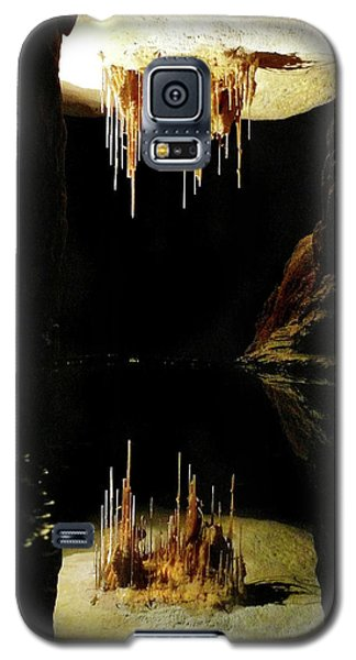 Galaxy S5 Case featuring the photograph Reflections Of The Underworld by Marion Cullen