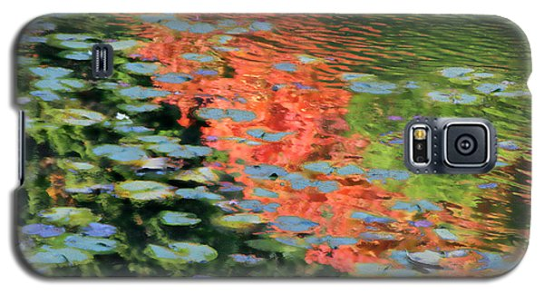 Reflections On A Lily Pond Galaxy S5 Case
