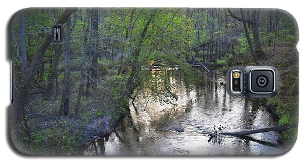 Galaxy S5 Case featuring the photograph Reflections On The Congaree Creek by Skip Willits