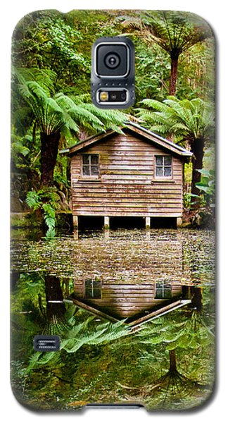 Featured Images Galaxy S5 Case - Reflections On The Pond by Az Jackson