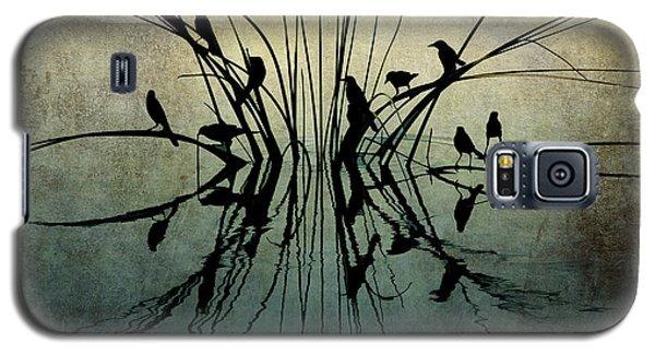 Reflective Grunge Galaxy S5 Case