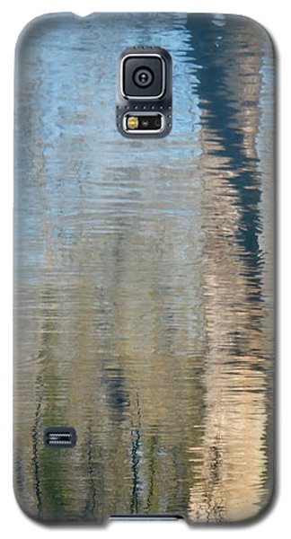 Galaxy S5 Case featuring the photograph Reflet Rhodanien Pastel 2 by Marc Philippe Joly