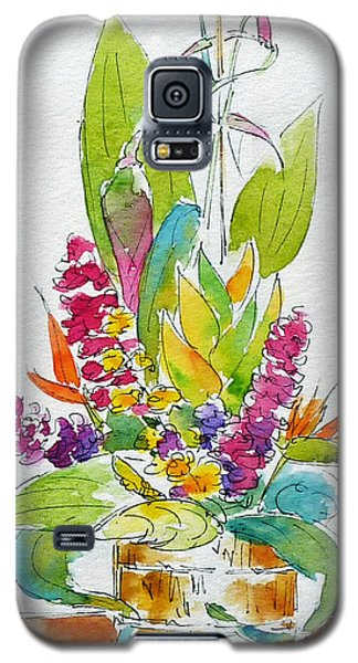 Regatta Tropical Floral Galaxy S5 Case