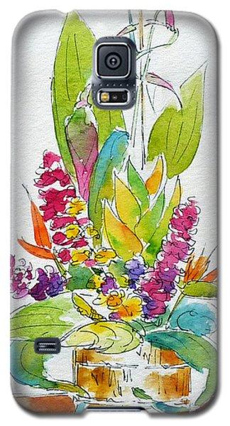 Regatta Tropical Floral Galaxy S5 Case by Pat Katz