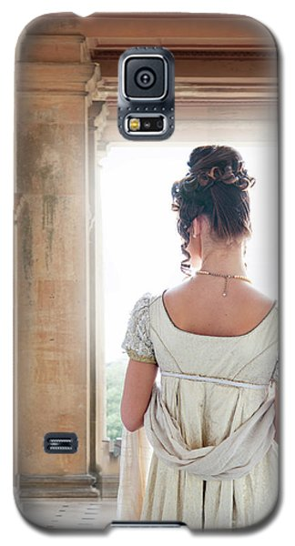 Regency Woman Under A Colonnade Galaxy S5 Case