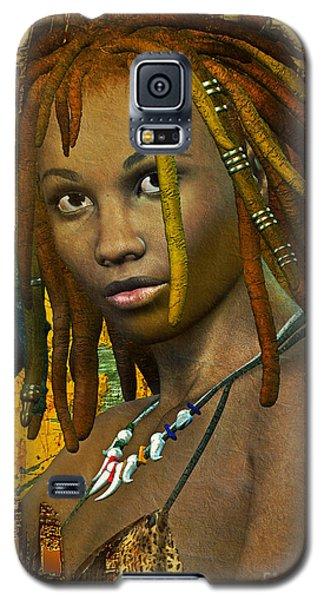 Reggae Woman Galaxy S5 Case