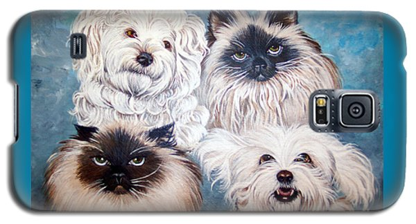 Reigning Cats N Dogs Galaxy S5 Case