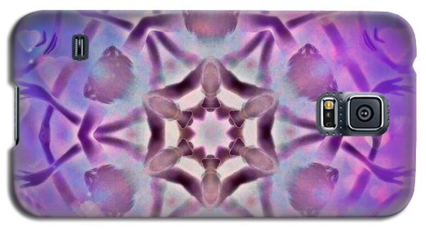 Reiki Infused Healing Hands Mandala Galaxy S5 Case