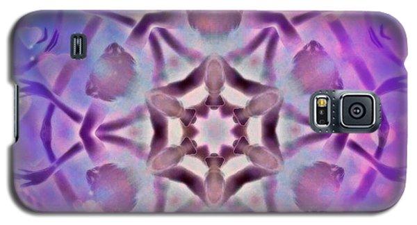 Reiki Infused Healing Hands Mandala Galaxy S5 Case