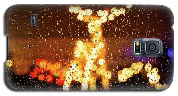 Reindeer Bokeh Galaxy S5 Case