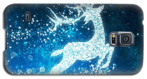 Reindeer Stars Galaxy S5 Case by Setsiri Silapasuwanchai