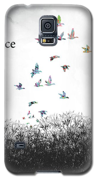 Galaxy S5 Case featuring the digital art Rejoice by Trilby Cole