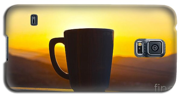 Relax At Sunset Galaxy S5 Case by David Warrington
