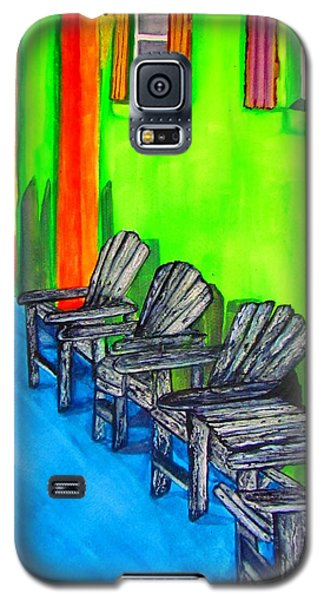 Relax Galaxy S5 Case by Lil Taylor