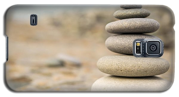 Galaxy S5 Case featuring the photograph Relaxation Stones by John Williams