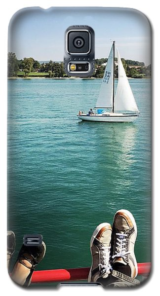 Transportation Galaxy S5 Case - Relaxing Summer Boat Trip by Matthias Hauser