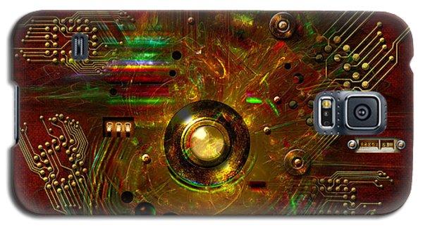 Relay Galaxy S5 Case by Alexa Szlavics