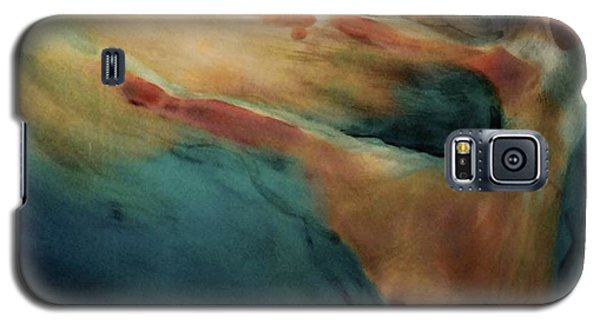 Galaxy S5 Case featuring the painting Releasing Of The Soul by FeatherStone Studio Julie A Miller