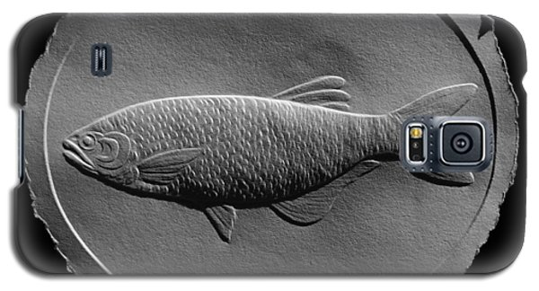 Relief Drawing Of A Freshwater Fish Galaxy S5 Case