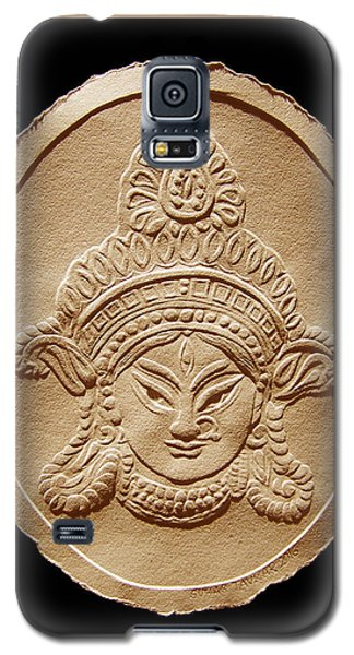 Relief Drawing Of Goddess Durga Devi  Galaxy S5 Case