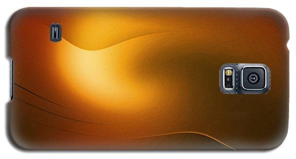 Relucent Gold Galaxy S5 Case by John Krakora