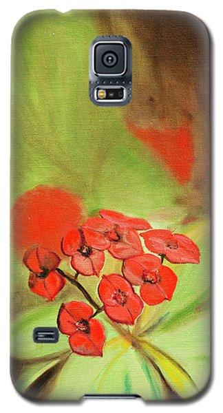 Remberance Poppy Galaxy S5 Case