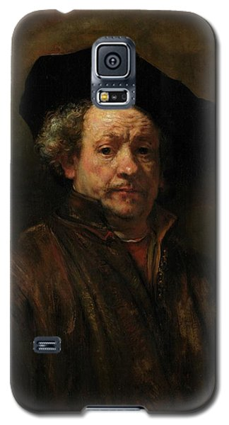Galaxy S5 Case featuring the painting Rembrandt Self Portrait by Rembrandt van Rijn