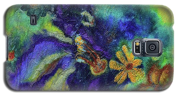Remember The Flowers Galaxy S5 Case by Donna Blackhall