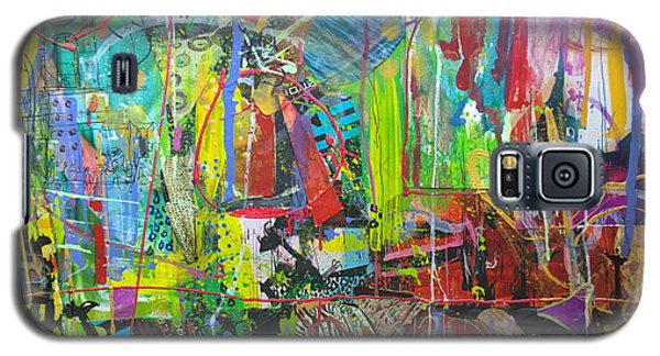 Galaxy S5 Case featuring the painting Remember The Soapbox by Robert Anderson
