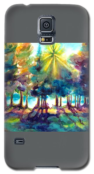 Galaxy S5 Case featuring the painting Remember The Son by Kathy Braud