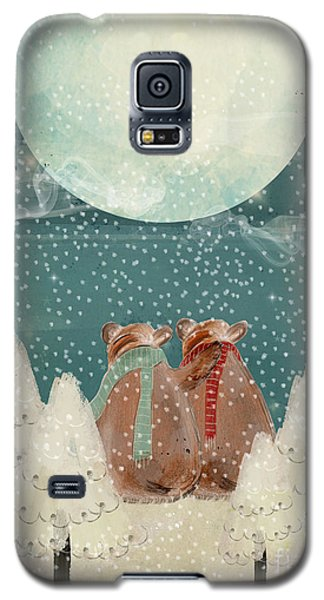Galaxy S5 Case featuring the painting Remember The Time by Bri B