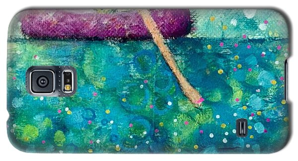 Galaxy S5 Case featuring the painting Remember To Play by Eleatta Diver