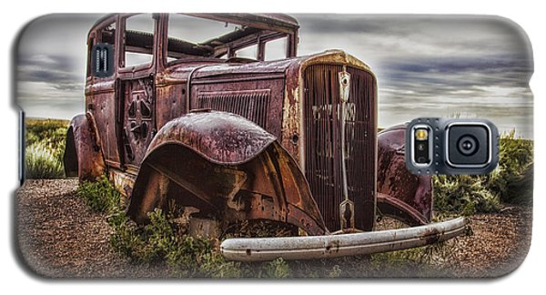 Remembering U.s. Route 66  ... Galaxy S5 Case by Chuck Caramella