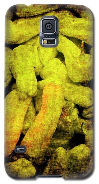 Renaissance Green Peppers Galaxy S5 Case