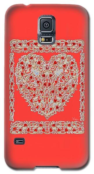 Renaissance Style Heart Galaxy S5 Case