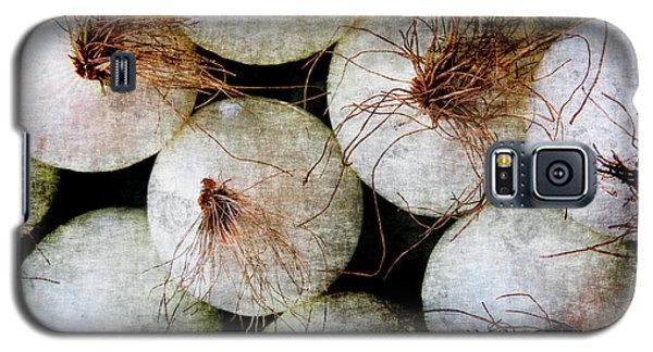 Renaissance White Onions Galaxy S5 Case