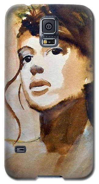 Galaxy S5 Case featuring the painting Le Ciel by Ed  Heaton