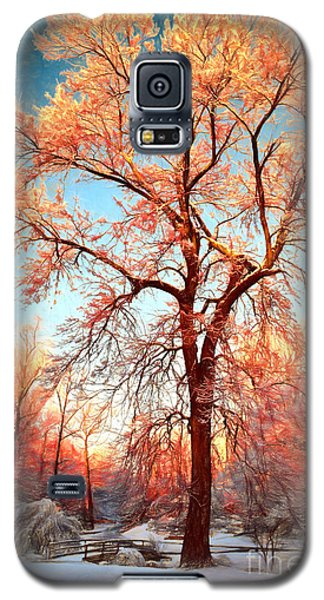 Galaxy S5 Case featuring the painting Renewal by Dan Carmichael