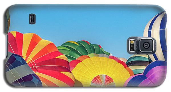 Galaxy S5 Case featuring the photograph Reno Balloon Races by Bill Gallagher