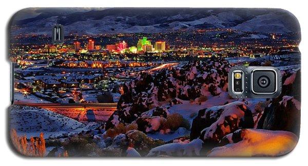 Reno Clearing Snowfall Galaxy S5 Case