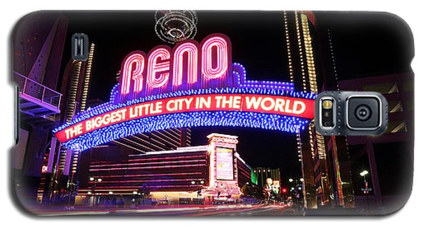 Reno - The Biggest Little City In The World Galaxy S5 Case by Shawn Everhart