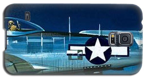 Airplane Galaxy S5 Case - Republic P-47n Thunderbolt by Wilf Hardy