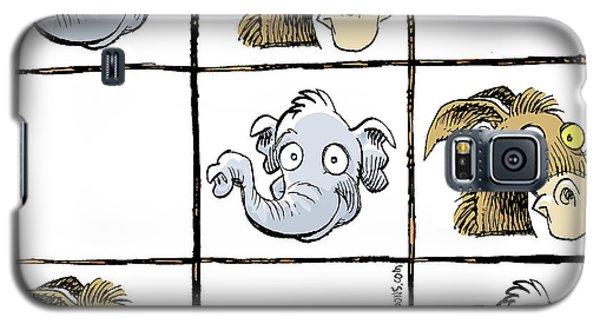 Republicans Win Tic Tac Toe Galaxy S5 Case