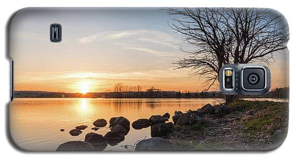 Reservoir Sunset Galaxy S5 Case