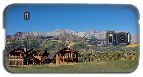 Galaxy S5 Case featuring the photograph Residences In Mountain Village -- A Planned Community Adjacent To Telluride by Carol M Highsmith