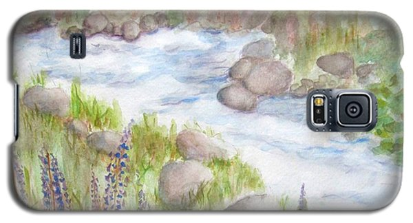 Rest By My Waters Galaxy S5 Case