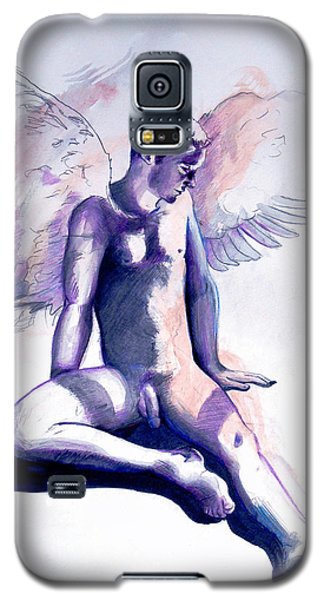 Resting Angel Galaxy S5 Case
