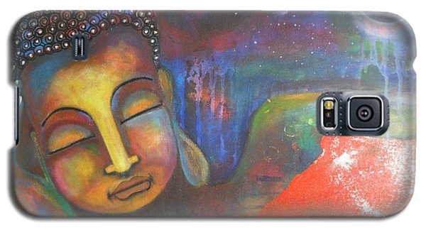 Buddha Resting Under The Full Moon  Galaxy S5 Case