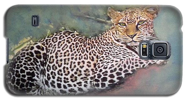 Resting Leopard Galaxy S5 Case