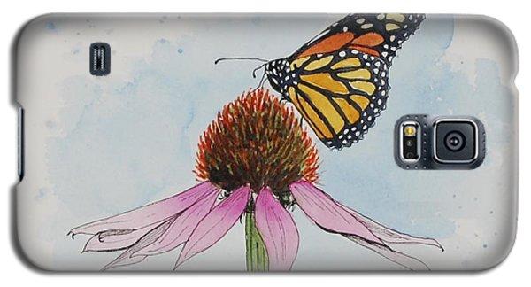Resting Monarch Galaxy S5 Case